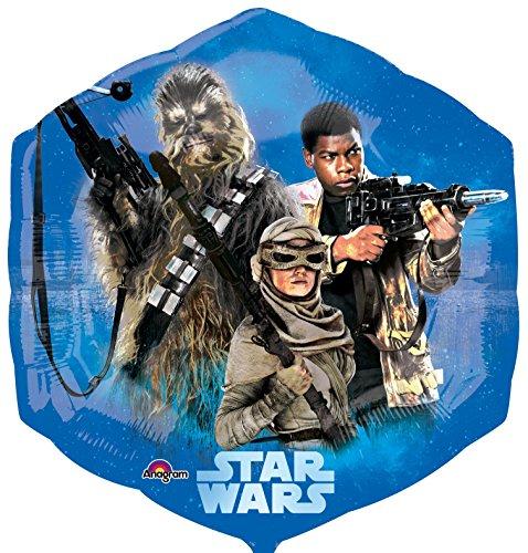 Disney Star Wars 6-eckig Folienballon Folien Ballon 58 cm *NEU*OVP*