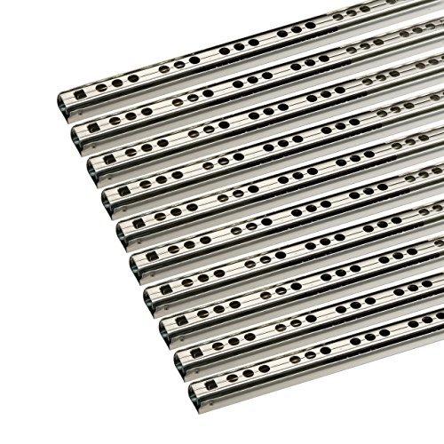 SO-TECH® Schubladenschienen 10 STÜCK Teilauszug Rollenauszug Kugelführung H: 17 / L: 342 mm -