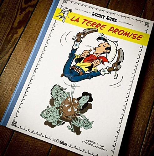 Lucky Luke D'après Morris Les Aventures De - Tome 7 : La Terre Promise Tirage De Tête