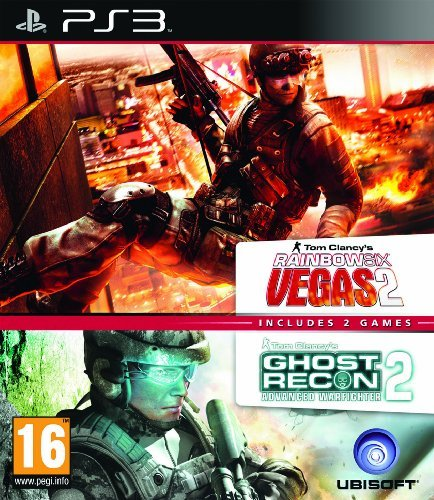 Rainbox Six Vegas 2 & Ghost Recon Advanced Warfighter 2 (Double Pack)...