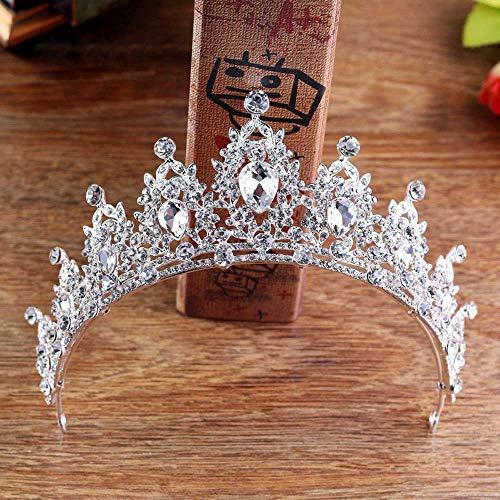 Jovono, für Hochzeit, Krone, Tiara mit Kristall, für Damen