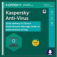 Kaspersky Anti-Virus 2020 Latest Version - 1 PC, 3 Years (Email Delivery in 2 hours- No CD)