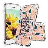 MOSNOVO Coque iPhone 6s, Coque iPhone 6, Flower Floral Fleur Citation Coque iPhone 6...
