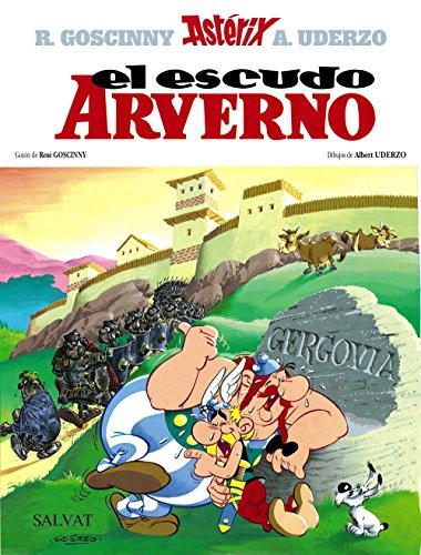 El escudo Arverno: Asterix: El Escudo Arverno (Castellano - A Partir De 10 Años - Astérix - La Colección Clásica) por Albert Uderzo