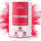 ahead® TOTAL OMEGA | Omega-3 + Vitamin D3 + K2 + Astaxanthin | 90 Kapseln – hochdosiert und 4x stärker als Krill-Öl* | Hergestellt in Deutschland