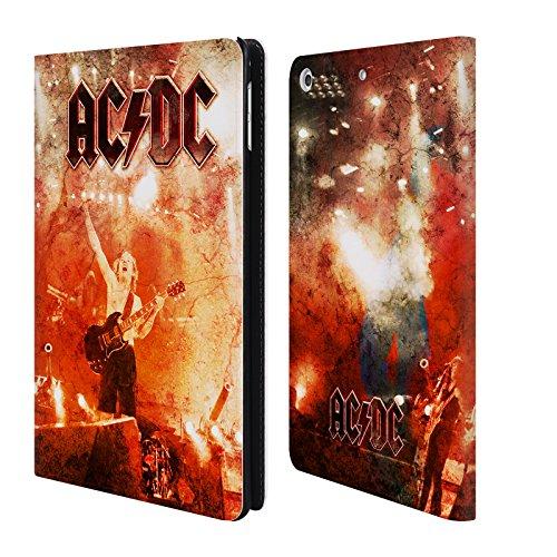Ufficiale AC/DC ACDC Live At River Plate Arte Album Cover a portafoglio in pelle per Apple iPad mini 4