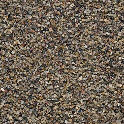 Aquarienkies Bodengrund QUARZKIES / DUNKEL / 5 kg. KÖRNUNG ca 1-3 mm.