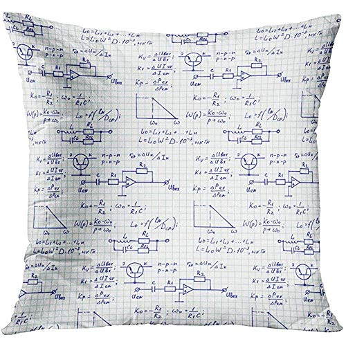 sexy world Throw Pillow Cover Circuit Board Electronic Computer Hardware Technology Motherboard Digital Chip Tech Science Integrated Decorative Pillow Case Home Decor Square 18x18 Inches Pillowcase - Soft Square Bath Hardware