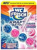 WC Frisch Kraft-Aktiv Duftspüler Blüten-Frische Paket, 10er Pack (10 x 50 g)