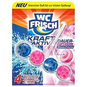 WC Frisch Kraft-Aktiv Duftspüler Blüten-Frische Paket
