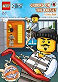 LEGO CITY: Crooks on the Loose! Activity Book with minifigure