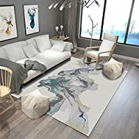 aafee288cb826 Ommda Tapis Salon Design Moderne Tapis Salon Asiatique Anti Derapant  Impression en 3D Multicolore 160x230cm 7mm