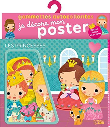 Je décore mon poster avec les gommettes: Les princesses - De 3 à 5 ans