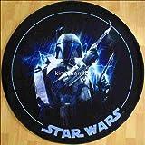 Star Wars Teppich Feinde 100cm rund Joda Luke Skywalker Darth Vader Lego kinderland24 Kinderteppich zur Bettwäsche
