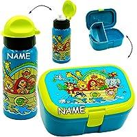 alles-meine.de GmbH 2 TLG. Set _ Lunchbox / Brotdose & Trinkflasche - Arche Noah - Tiere / Zooti.. preisvergleich bei kinderzimmerdekopreise.eu