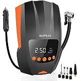AUTSCA Compressore Portatile per Auto, Gonfia Gomme Auto DC-12V 150PSI, Gonfia Ruote Auto per Auto con Schermo a LED, Compres