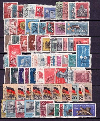 Briefmarken: DDR 1959 kompletter Jahrgang gestempelt (saubere Erhaltung)