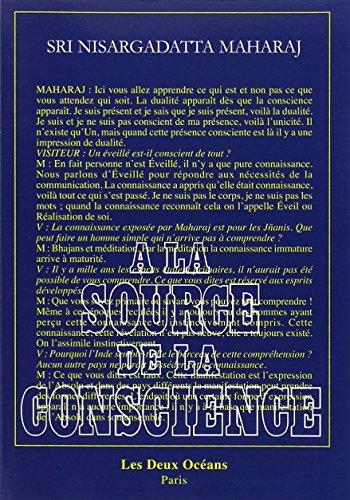 A la source de la conscience par Nisargadatta