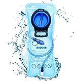 AODOOR Sacca Idratazione, 2 litri Sacchetto dell'Acqua Capacità Water Bladder Portatile Sistema di Idratazione per…