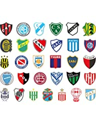 Pack 31 Argentine league autocollants
