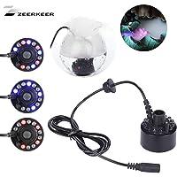 siwetg 12 LED Ultrasonic Mist Maker Fogger Source deau Etanche Int/érieur Ext/érieur Neuf