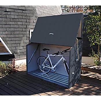 dema fahrradgarage 4 m f r 4 fahrr der baumarkt. Black Bedroom Furniture Sets. Home Design Ideas