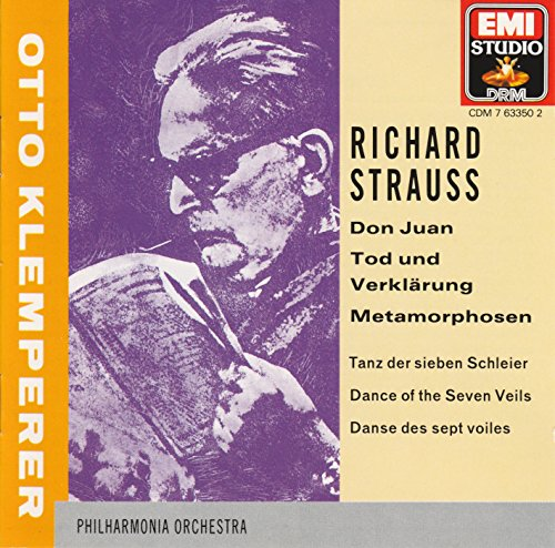 Strauss R Don Juan Mort et Transfiguration Salomé Metamorphosen