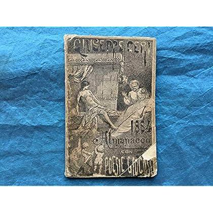 1884. Almanacco Con Poesie Giocose