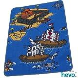 Piraten HEVO® Teppich | Kinderteppich | Spielteppich 67 x 92 cm