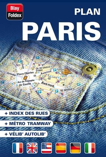 Paris : Plan de poche avec localisation des stations Vélib'