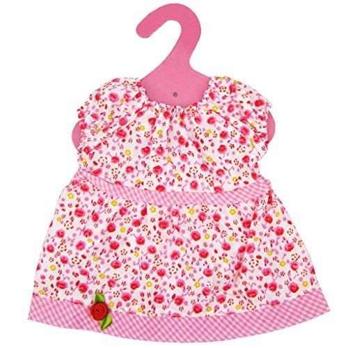 Muñecas Fashion Ropa Vestido Colorido de Paño para American Girl 18 Pulagdas - #4