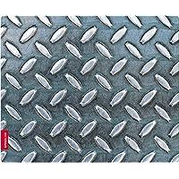 Speedlink METAL SILK Mousepad - con superficie tessile morbida come seta (Forma ergonomica, Adatto per tutti i mouse con sensore ottico o laser)