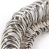 TRIXES Ringgrößenmesser zum einfachen Messen der Größe eines Fingerrings EU US UK Skala - 5