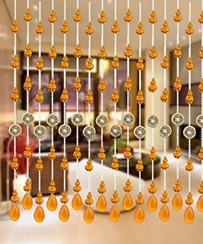 WUFENG Vorhang Sommer-Zimmer Tür Fenster Perlenvorhang Türvorhang Anti-Moskitos Vorhänge Vorhänge (größe : 80 * 120cm) -