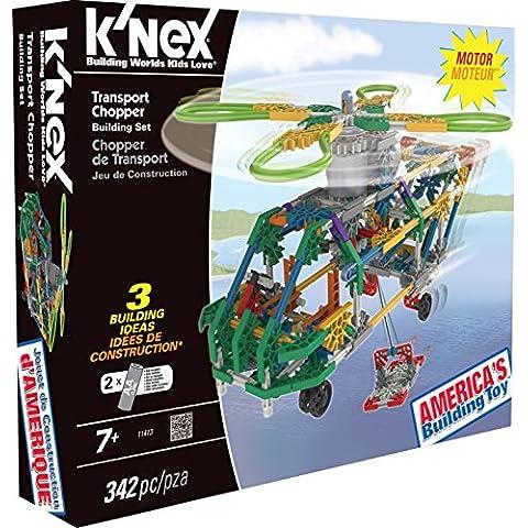 KNex - Juego de construcción para niños de 4 piezas (11413)