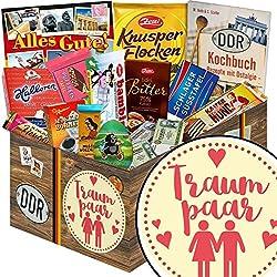 Traumpaar | Schokolade Korb | Geschenkkorb | Traumpaar | Geschenke Paare | mit Mokka Bohnen, Kalter Hund und mehr