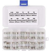 TOSSPER Box Occhiali da Sole Vite Dado Pad Naso Riparazione Ottica Strumento Assortiti Kit Tools