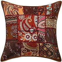 Bohemia Boho indio, étnico hogar decorativo, cojín de sofá indio, cojín decorativo para