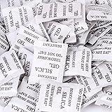 100 packs 1g Kieselgel Ungiftig Trockenmittel Feuchtigkeit Absorber Luftentfeuchter