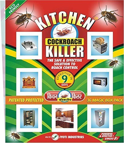 Jyoti Industries Kitchen Cockroach Killer (Pack of 36pc)