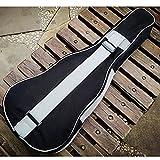 Housse rembourrée pour ukulélé guitare acoustique 53,3x58,4x 66cm, 21inches