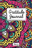 Gratitude Journal: Personalized diaries for 2017 daily gratitude & mindfulness reflection,Gorgous Mandalas Tough Matte Cover Design (Gratitude diaries you can write in)