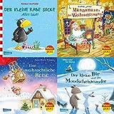 Maxi-Pixi-4er-Set 67: Winterzeit mit Maxi Pixi (4x1 Exemplar) - Günther Jakobs, Anne-Marie Frisque, Anna Himmel, Nele Moost, Linda Chapman