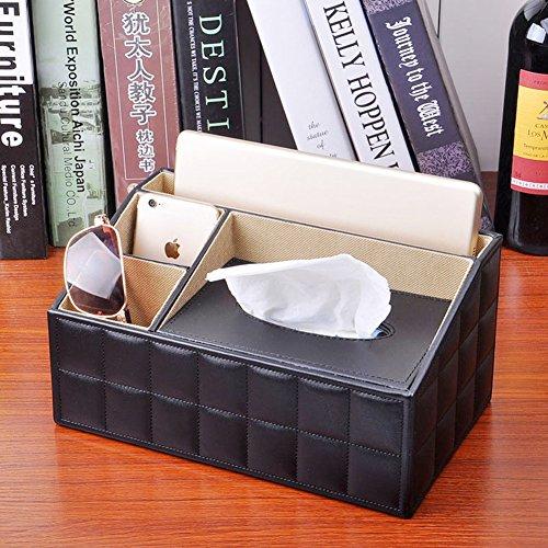 Multi-funzionale tessuto box/Libro scatola di cuoio di vintage/Telecomando contenitore-E - Multi Orecchini A Cristallo Di Colore