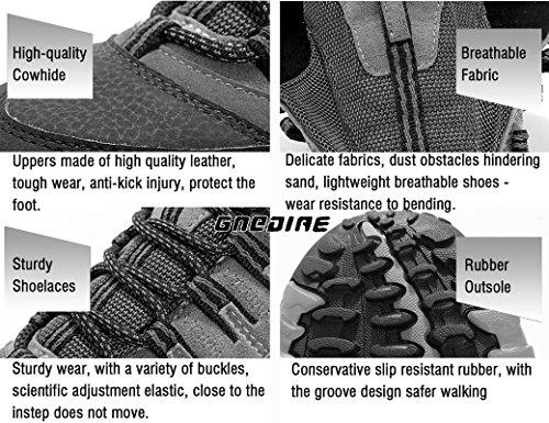 SANANG Escursionismo per Uomo Escursionismo per Escursionismo per Il Tempo Libero Scarpe Sportive Scarpe da Ginnastica Escursionismo Lacci Stivali da Allenamento 35-46 Rosa marina