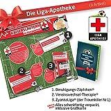 Geschenk-Set: Die Liga-Apotheke für FCK-Fans | 3X süße Schmerzmittel für FC Kaiserslautern Fans Fanartikel der Liga, Besser ALS Trikot, Home Away, Saison 18/19 Jersey