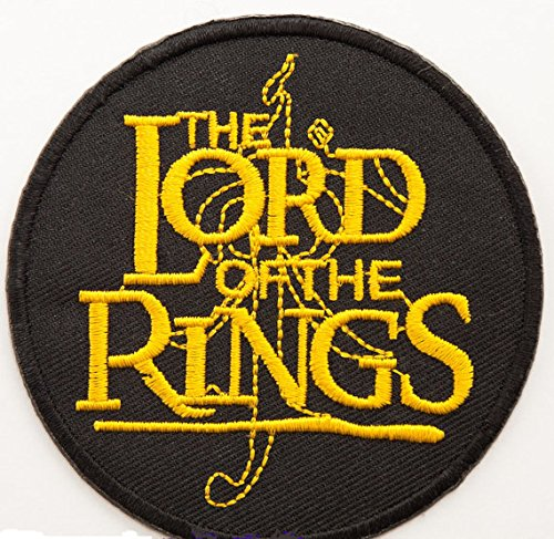 Herr der Ringe Patch 8 cm Embroidered Iron on Badge Kostüm Aufnäher Motiv Der Hobbit Cosplay Souvenir