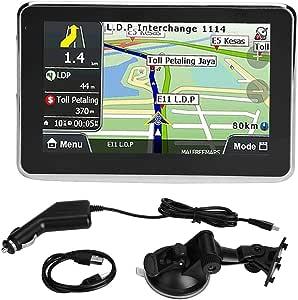 Gps Navigation Universal 5 Zoll Screen Auto Navigator Gps Navigation 256mb 8gb Mp3 Fm Europa Karte 508 Auto