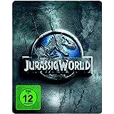 Jurassic World - Premium Steelbook Edition mit 2 Dinosaurier-Figuren