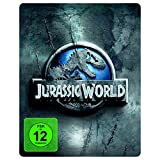 Jurassic World - Premium Steelbook Edition mit 2 Dinosaurier-Figuren [Blu-ray]